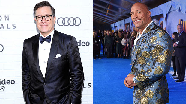 Stephen Colbert Begs The Rock Not To Run For President: 'We Don't Need Another Celebrity'