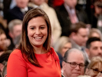 McCarthy Officially Backs Stefanik to Replace Cheney in House Leadership