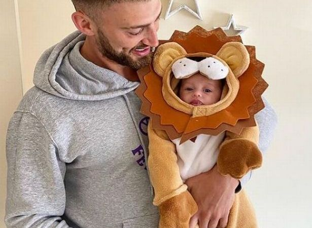 Jake Quickenden shares adorable message with baby Leo