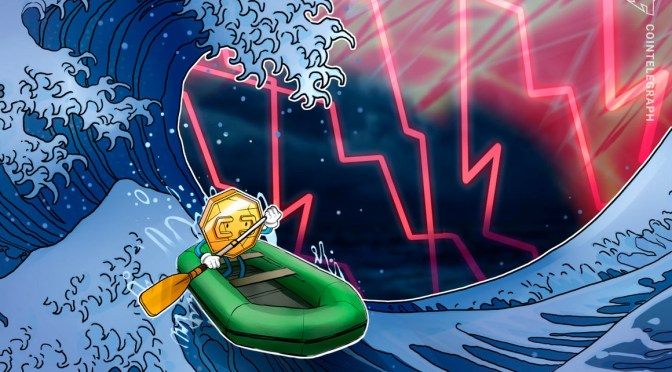 Crypto bounce sees Waves, Internet Computer gain 80–110% on rebound