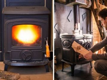 Wood burning stove rules: Changes today mean you could face huge fines