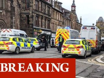 Paisley emergency: Police rush to lock down street after incident near polling station