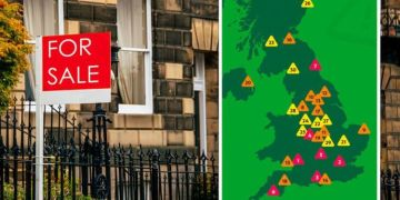 Property warning: Map exposes 'riskiest' locations to buy a home in the UK