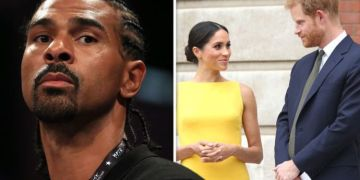 'You can't live your life trying to make the world happy!' David Haye on Harry and Meghan