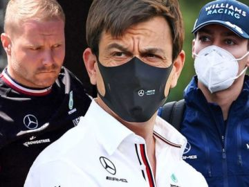Toto Wolff trolls Red Bull as Mercedes make Valtteri Bottas vs George Russell statement