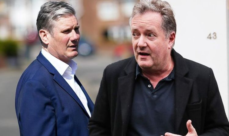 Piers Morgan slams Keir Starmer after Labour Party loses votes in election 'Get a grip!'