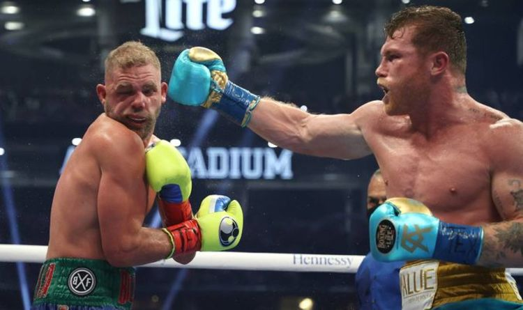 Billy Joe Saunders' career at risk as Brit faces surgery on eye injury after Canelo loss