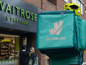 Waitrose scraps two hour rapid delivery service as it begins Deliveroo expansion