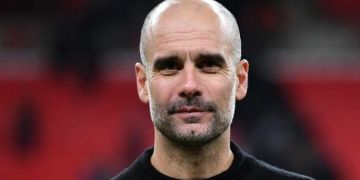 Pep Guardiola lauds 'huge success' after Man Utd defeat sees Man City clinch title