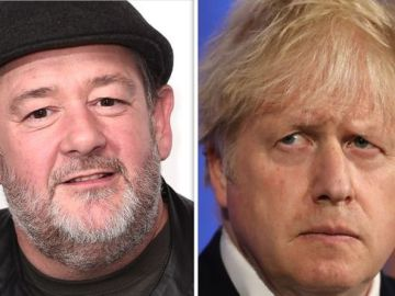 Johnny Vegas' fury at Boris Johnson as comedian told of 'bitterness' towards PM