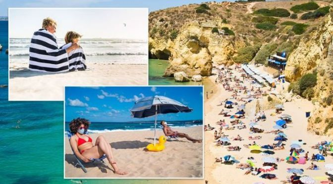 Portugal: FCDO warns Britons of major new 'sunshade and towel' rules on beaches