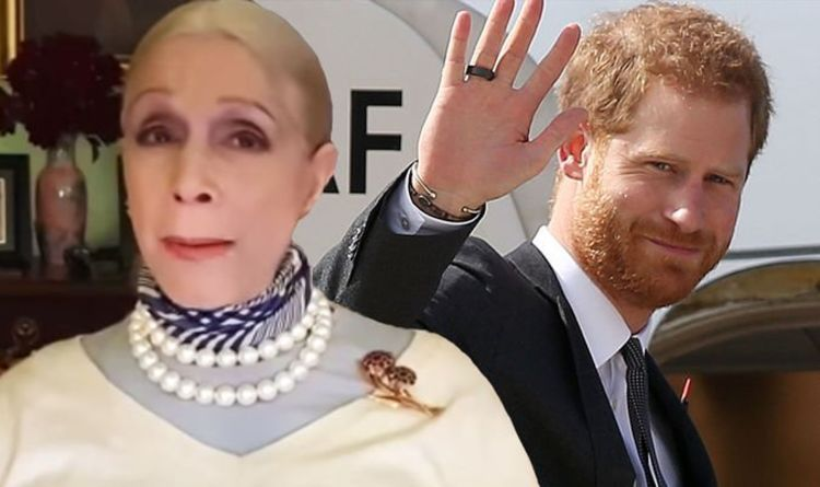 'He loves fame and fortune' Prince Harry is 'deluded' over US move says Lady Colin