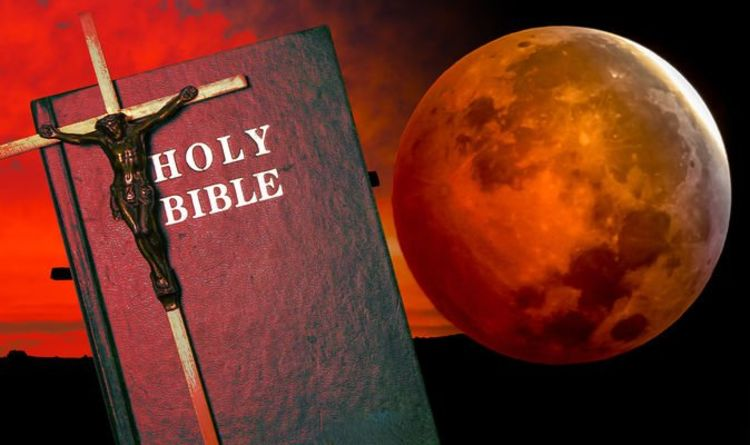Blood Moon prophecy in Bible exposed as 'Moon turned blood red' and 'stars fell to Earth'