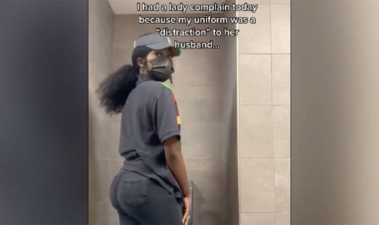 Burger King worker told her tight jeans 'too distracting' for woman's husband