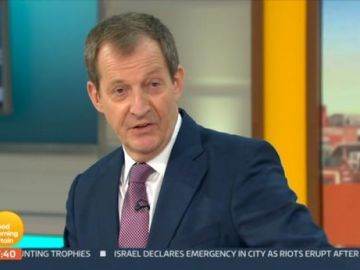 GMB fans not impressed with Alastair Campbell 'cringey' interview