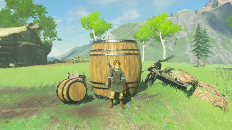 Did You Know Link Can Ride On Giant Barrels In Zelda