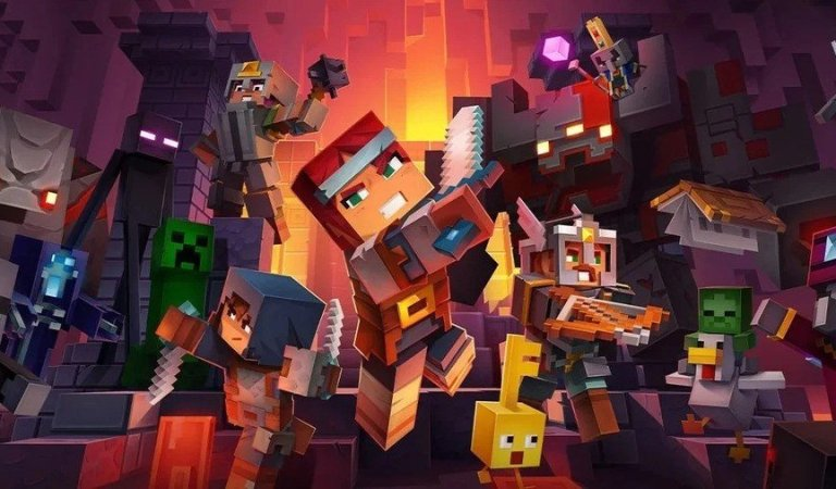 Cloud Save Support Is Now Available In Minecraft Dungeons