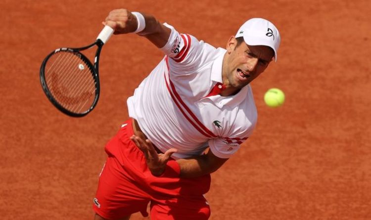 Novak Djokovic rages at heckler before defeating Pablo Cuevas in French Open second round