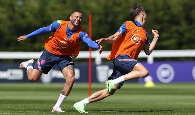 England speedster Kyle Walker says squad is like a 'mini youth club' ahead of Euro 2020