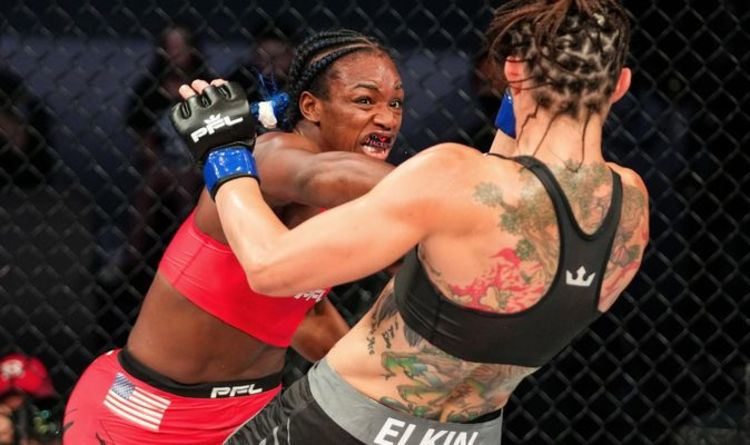 Claressa Shields put 'faith over fear' to claim come-from-behind win on MMA debut at PFL 4