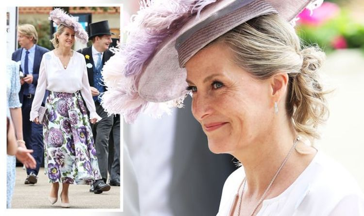 Sophie Wessex recycles 'glamorous' feather hat for Royal Ascot day two - 'loving the look'