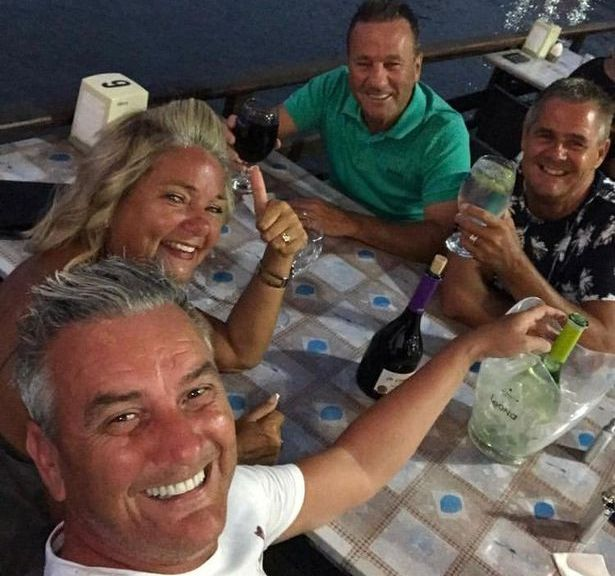 Gogglebox Lee shows off glowing tan during 'favourite staycation'