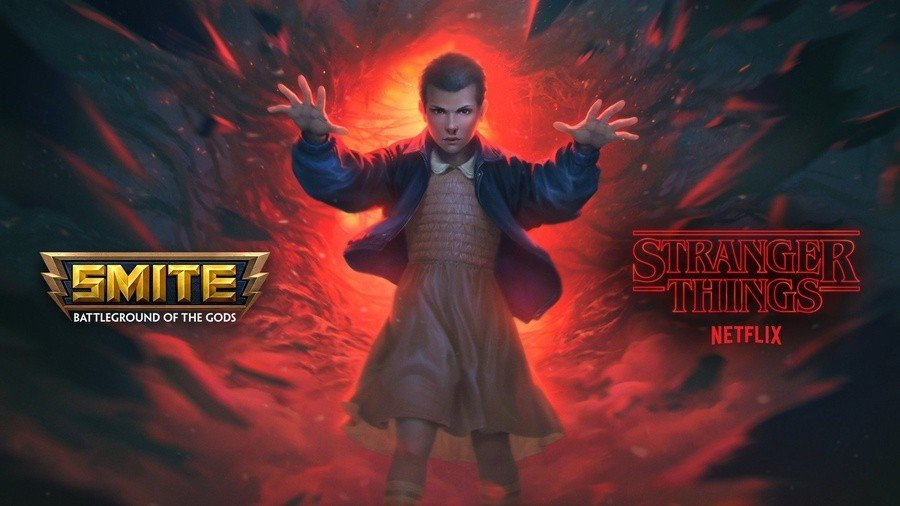 A Stranger Things Cross-Promo Is On The Way To The Godly MOBA Smite