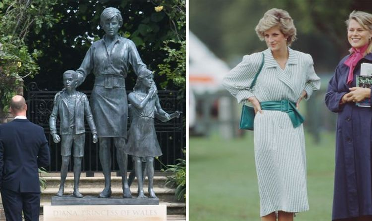 Princess Diana statue outfit represents her 'confidence in final years' -style in pictures