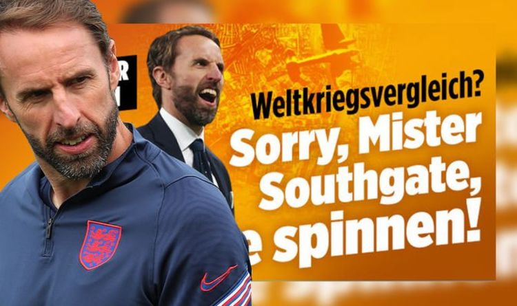 German press go berserk at Gareth Southgate's wartime comment 'Too many Churchill movies'