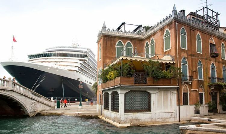 'About time!': Cruise ships banned from Venice lagoon in latest cruise holiday blow
