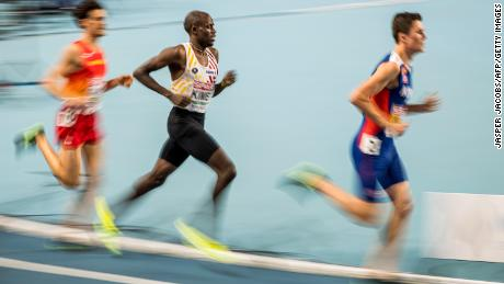 Kimeli says he started running once he set foot in Belgium, since harnessing stellar achievements across track events.