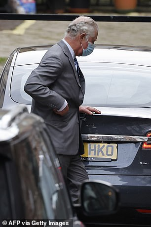 Luxury Tesla used by Prince Charles goes on sale for £82,000