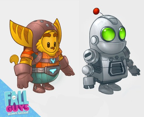 Fall Guys - Ratchet and Clank Crossover