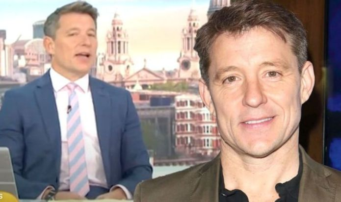 Ben Shephard says goodbye to her co-star, as she broadcasts the final week of GMB.