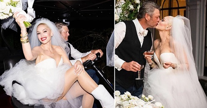 Gwen Stefani and Blake Shelton's lovely images reveal their engagement