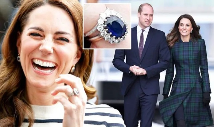 Kate Middleton follows tradition with £1200 ring from William