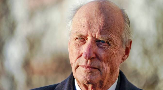 """Norway's King Harald sends condolences to Germany and Belgium: """"It's a terrible natural disaster"""""""