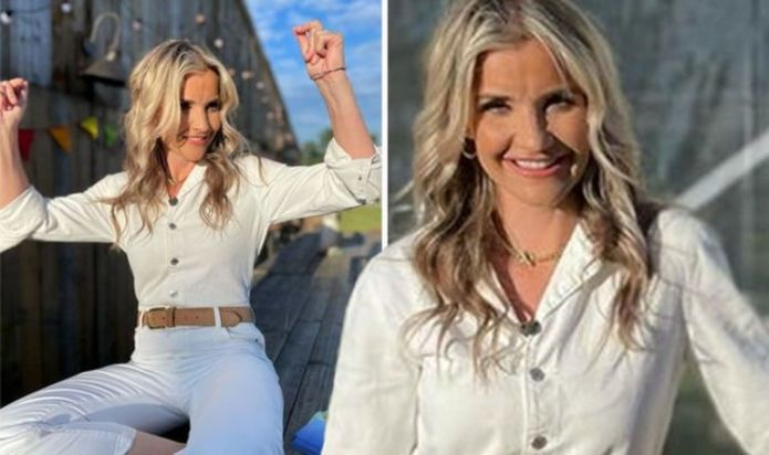 Helen Skelton takes a 10-hour journey to audition for a TV role