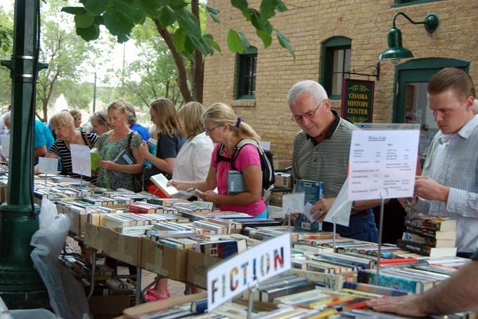 Summer book sale is July 22-25