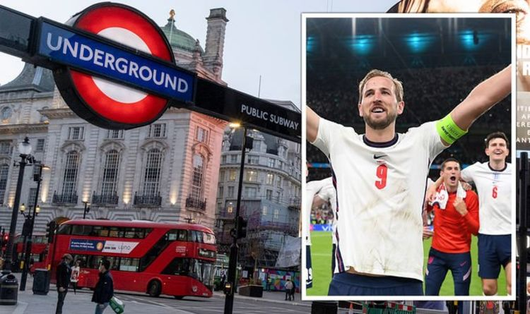 Train times: How to avoid travel chaos in London after Euro 2020 final