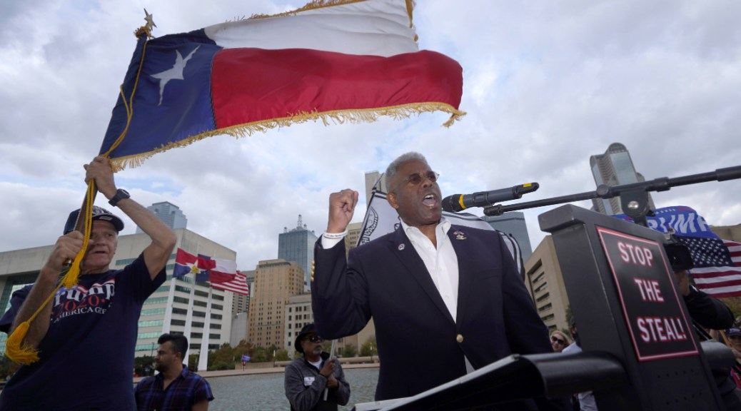 'We don't like bullies, egomaniacs or jerks': Allen West crashes Texas governor's race
