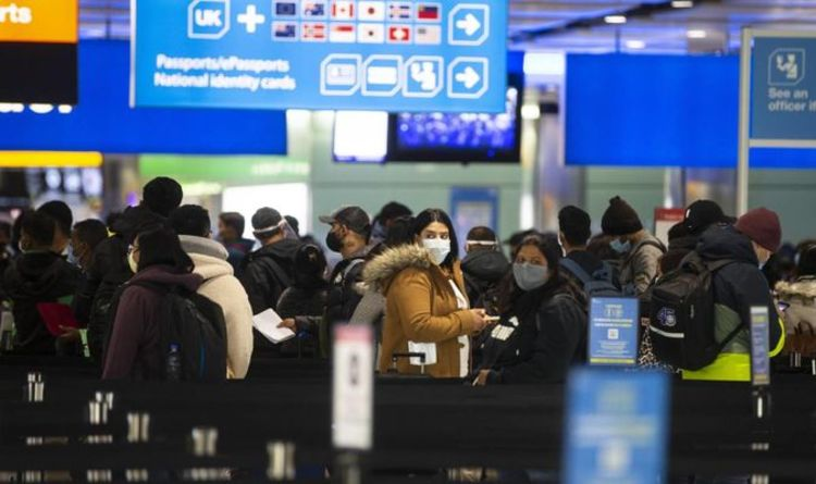 Warning: Borders are experiencing huge lines as Brits return home Which airports will be affected by this?
