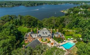 Historic Annapolis, Maryland Georgian Revival Mansion on Severn River to Auction No Reserve via Concierge Auctions