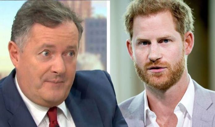 """Piers Morgan encourages everyone to """"keep close eye"""" on Prince Harry's charity claim."""