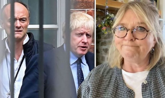 Fern Britton rages at Cummings and Boris Johnson over BBC interview: 'Fuelled by revenge'
