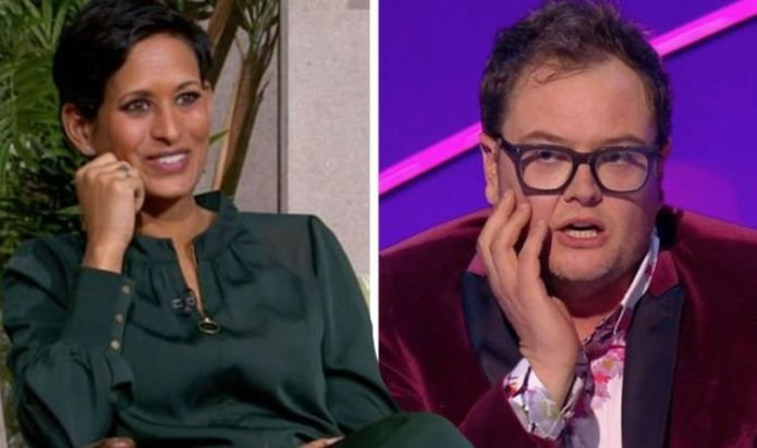 """Naga Munchetty responds, """"Are you bored with me?"""" Her interview is cut short"""