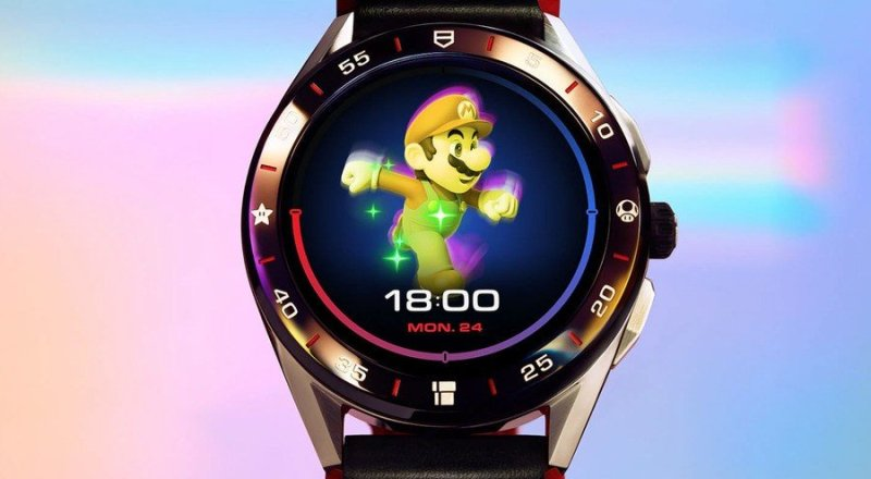 Tag Heuer Reveals Limited-Edition $2,150 Super Mario Watch