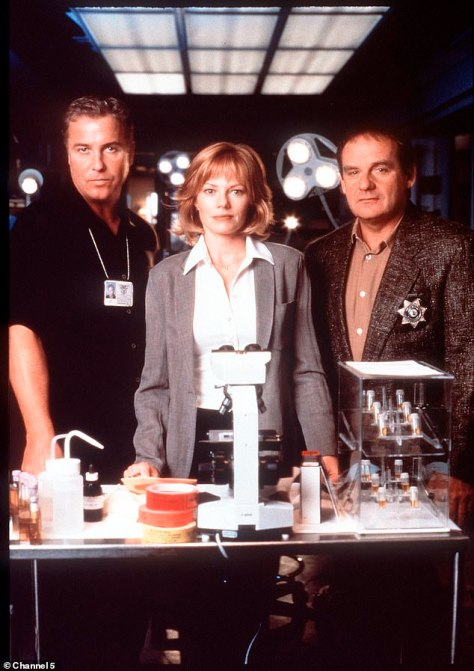 Iconic: Petersen is most identified with his lead role on CSI: Crime Scene Investigation, which he began starring on in 2000, after making a name for himself in 1980s crime film classics