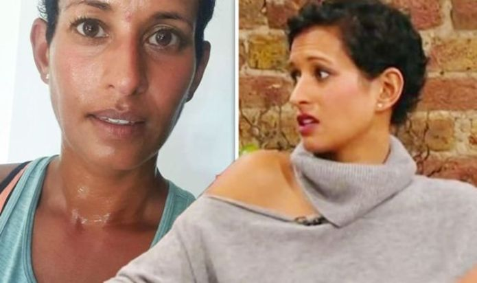 Naga Munchetty was 'forced' to break down because she 'couldn't bear it. BBC hosts injury update