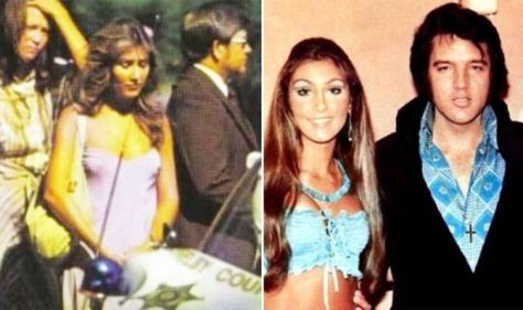 Elvis Funeral: Linda Thompson, a former girlfriend of Elvis shares photographs of her at King's Funeral